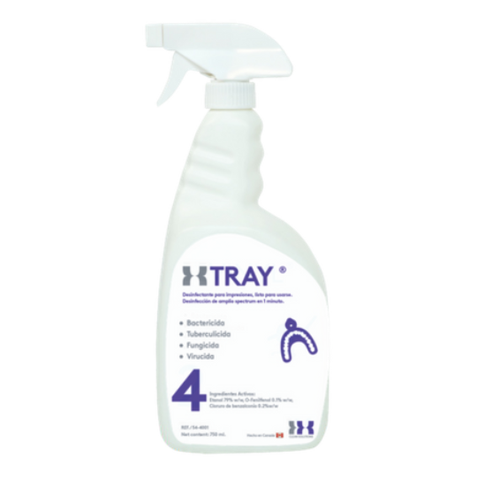 XTRAY, DESINFECTANTE PARA IMPRESIONES DENTALES