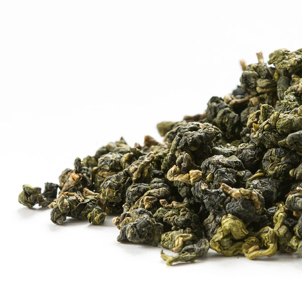 Qingxin oolong tea grown and harvested in Alishan.