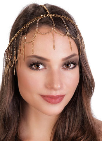 Gold Headpiece