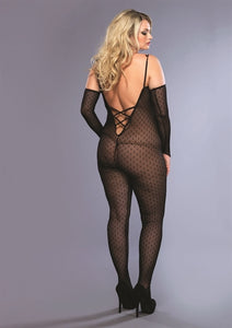 Daisy Lace Bodystocking- Queen Size