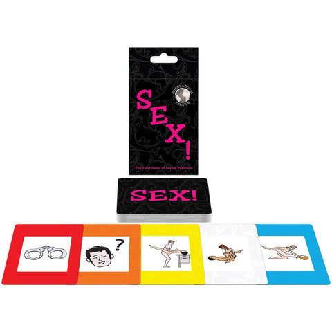 Sex! Sexual Position Card Game