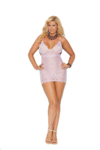 Diamond Design Babydoll- Queen Size