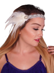 Flapper Beaded Headband