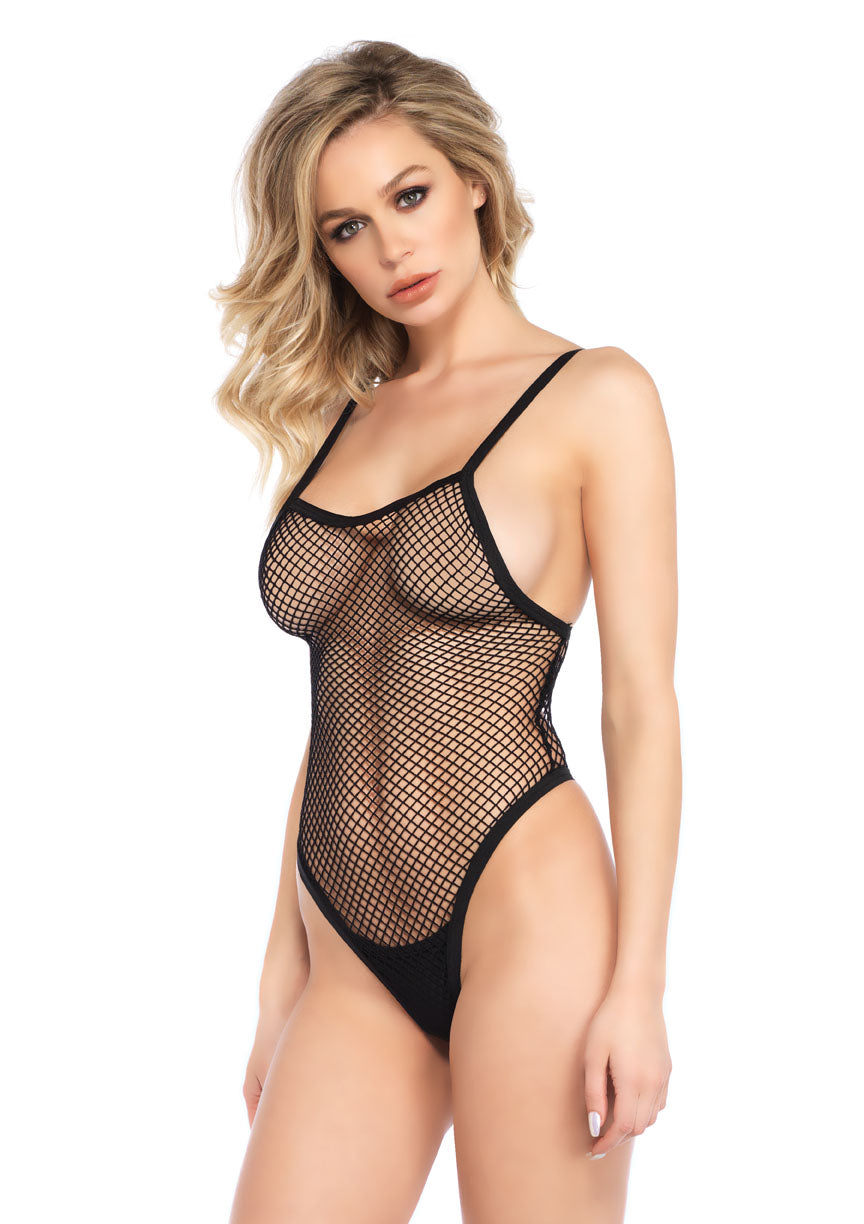 Fishnet G-String Teddy