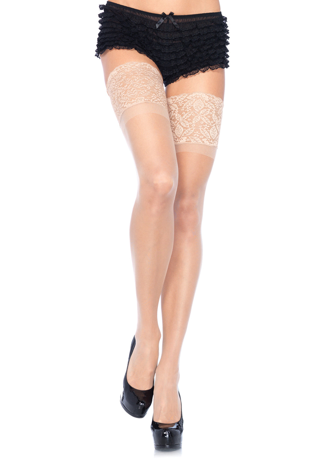 Stay Up Thigh High with 5 Inch Top- Queen Size