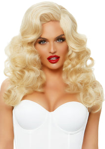 Bombshell Long Curly Wig