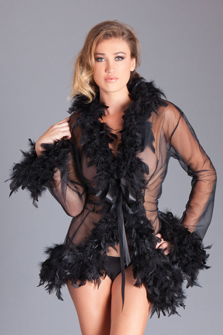 Satin & Lace Robe