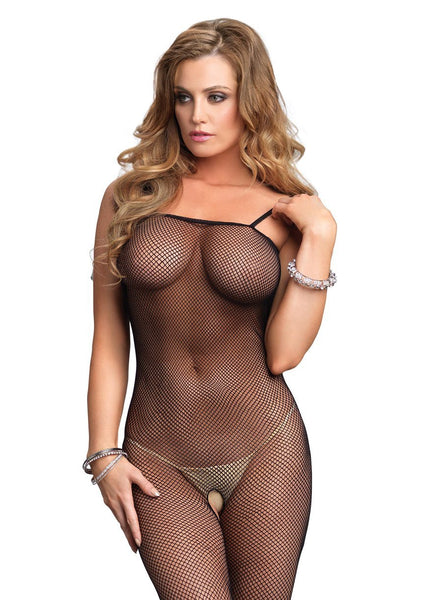 Seamless Fishnet Bodystocking