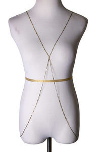 Thin Gold Bodychain