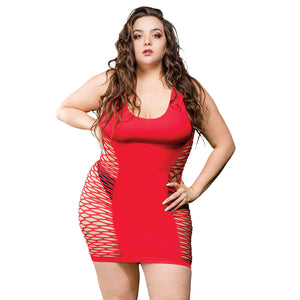 Shoulder Center Band Tube Dress