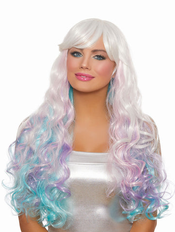 Long Wavy Layered Wig