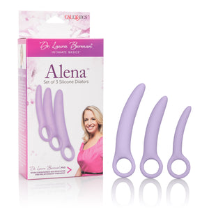 Dr. Laura Berman- Alena Set of 3 Silicone Dilators