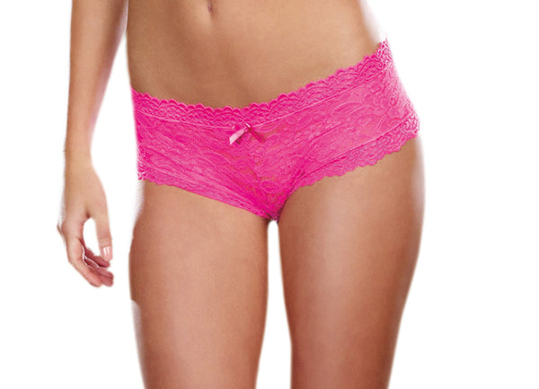 Hipster Panty- Hot Pink