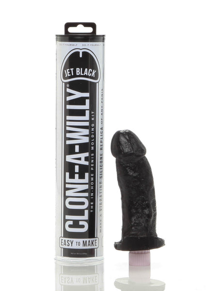 Clone-A-Willy- Jet Black