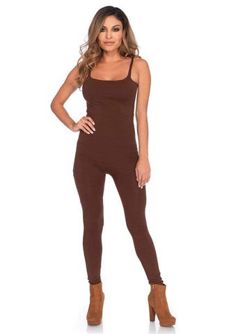 Basic Unitard- Brown