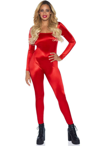 Spandex Catsuit- Red