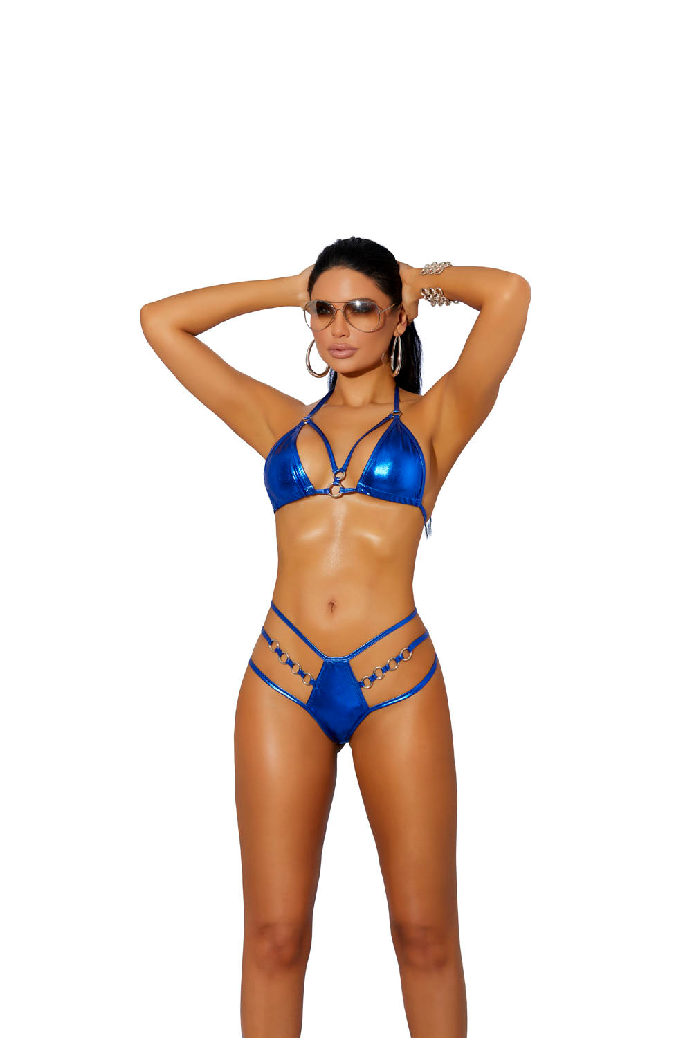 Royal Blue Bikini Top & G-String