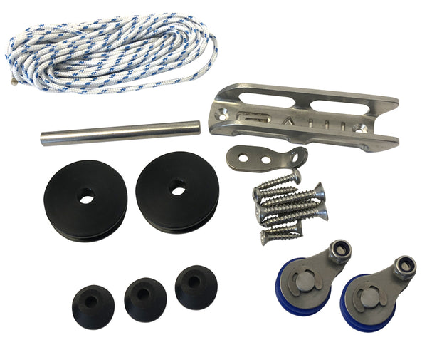 Inverted roller gun parts kit