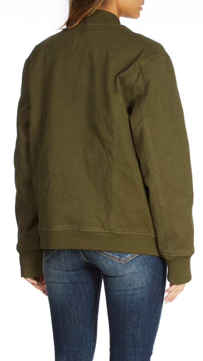 Erika - Oversize Jacket Army Green