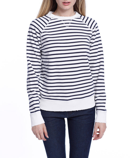 Ella Sweatshirt Off White Stripes