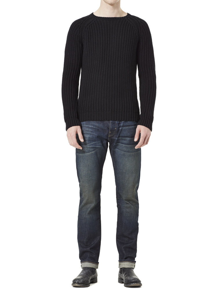 Bond Sweater Black full view