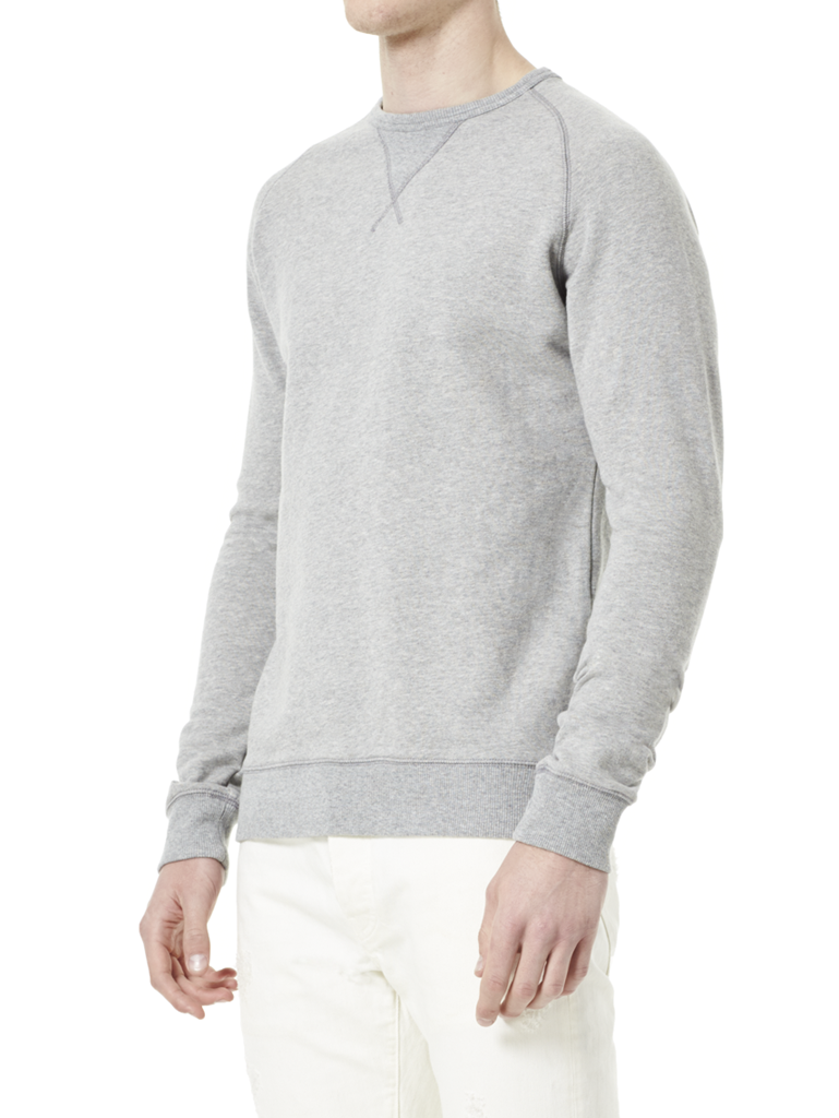 Ross Sweatshirt Grey view 2
