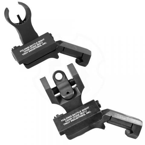 Troy Front and Round Rear HK Offset Sight Set