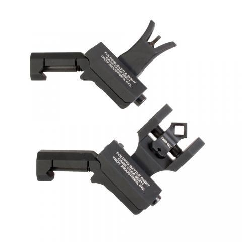Troy Front and Dioptic Rear M4 Offset Sight Set