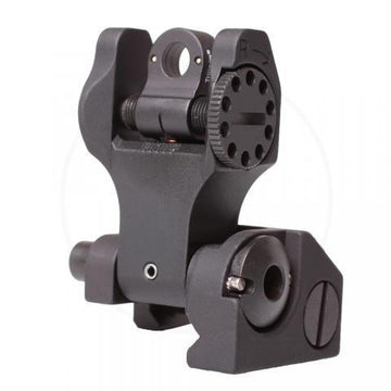 Troy Tritium Rear Folding Sight - RAMPART