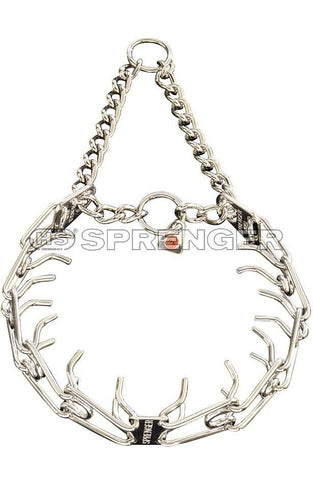 HS Sprenger ULTRA PLUS Training Collar with Center-Plate and Assembly Chain (Standard) - RAMPART