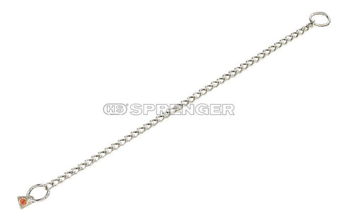 HS Sprenger Round Links Collar (Stainless Steel) - RAMPART