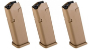 GLOCK 19X 9mm 10 Round Pistol Magazine 3-Pack - RAMPART