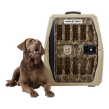 Gunner Kennels G1 Intermediate Kennel - Mossy Oak Gamekeepers Edition - RAMPART