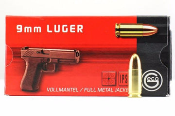 Geco 9mm Luger FMJ - 1000 round case - RAMPART