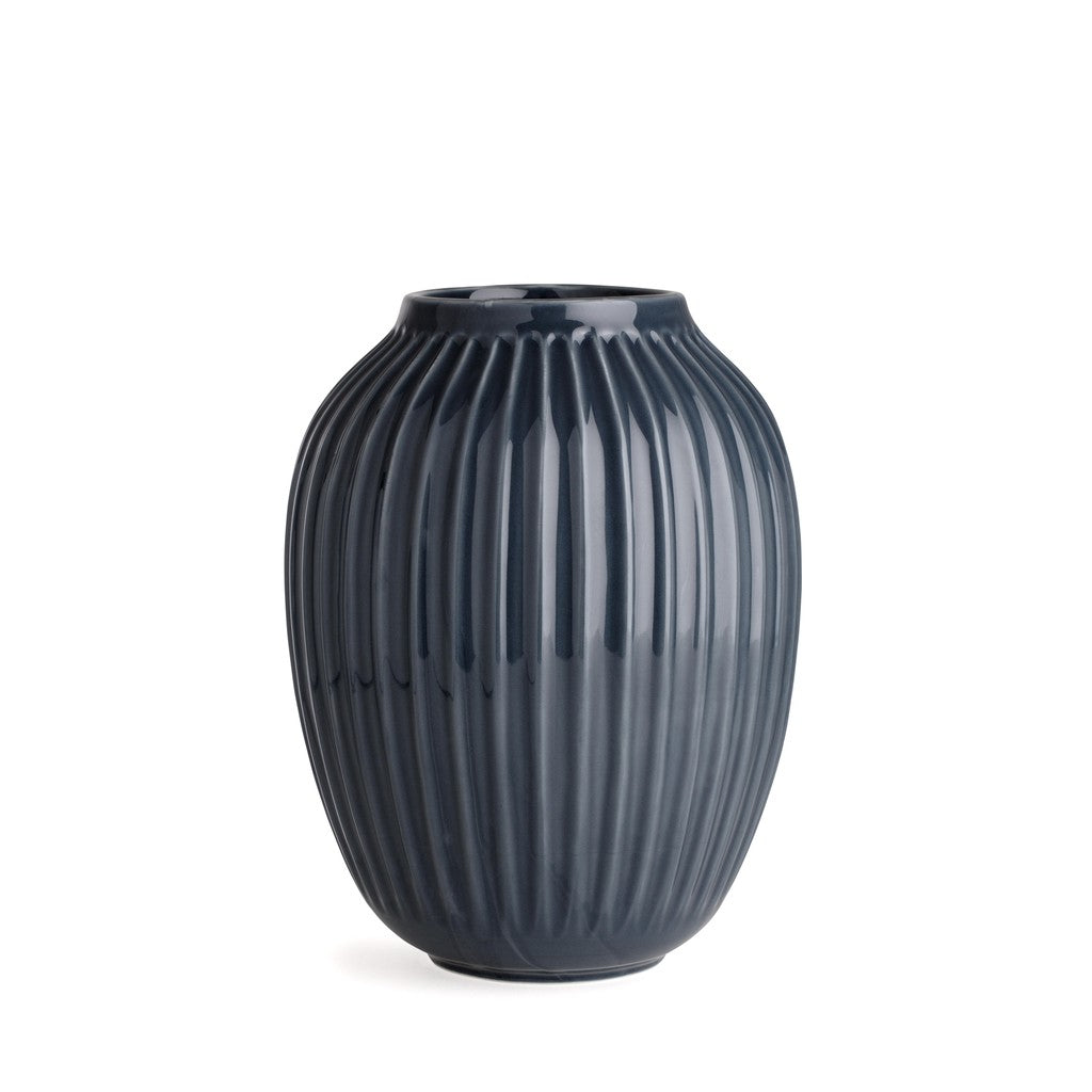 Vase Hammershøi Kähler Design H250mm, grand, gris anthracite