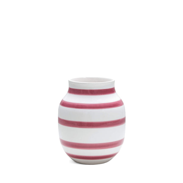 Vase Omaggio Kähler Design H200mm, moyen, rose