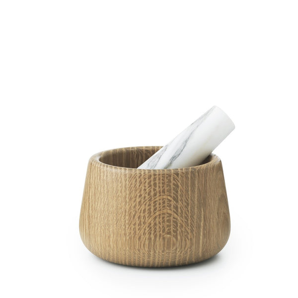 Pilon blanc et mortier Craft Normann Copenhagen
