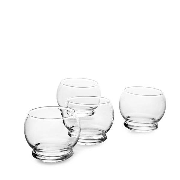 Rocking, Verre à bascule Normann, 4 pcs, 25 cl
