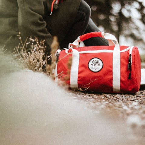 Red Crew Duffel