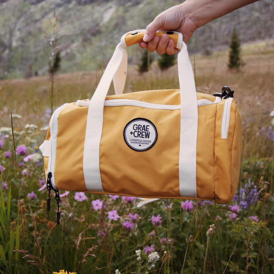 Yellow Crew Duffel