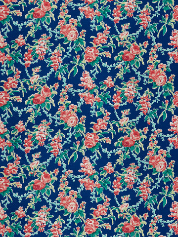 CHINTZ - NAVY