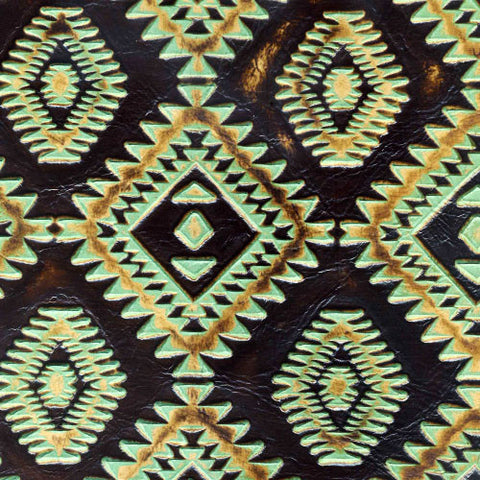 Aztec - Turquoise Brown