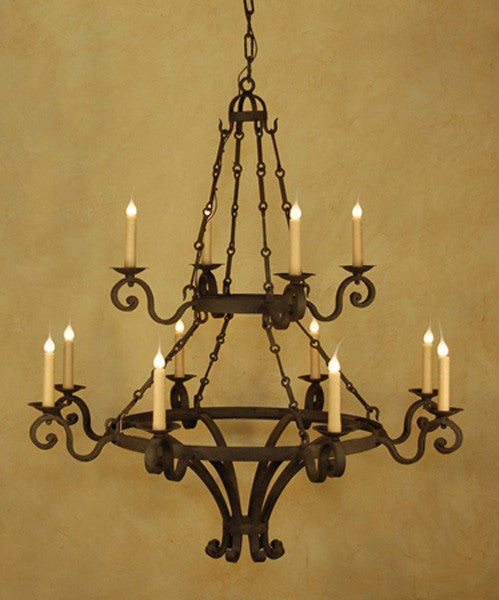 C117 Dolce Double Chandelier