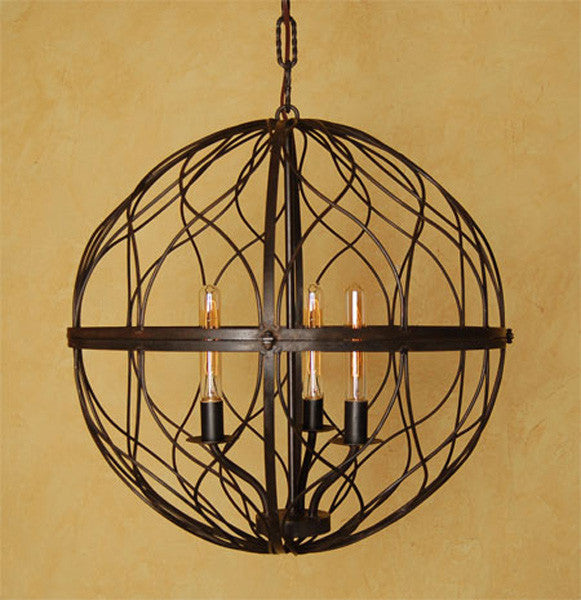 C142 Sphere Chandelier Large