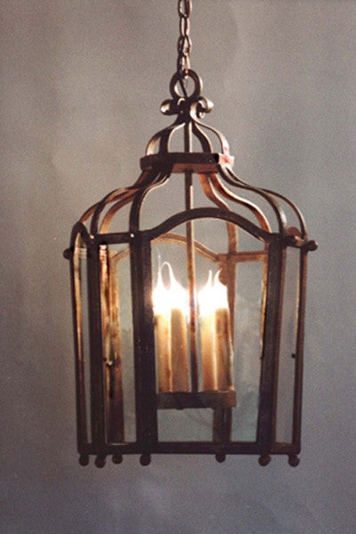 C36 Large 4 Light Lantern Chandelier