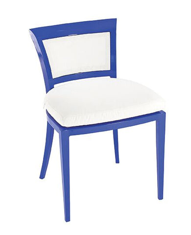 DELANCEY Dee Side Chair in Aluminum