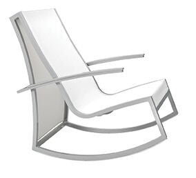 DELANCEY Spindel Rocking Chair with Polyester Mesh