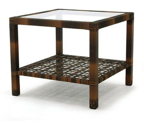ASTOR End Table with Glass Top