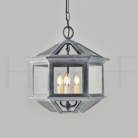 Alex Hanging Lantern Small with 3 Way Fitting