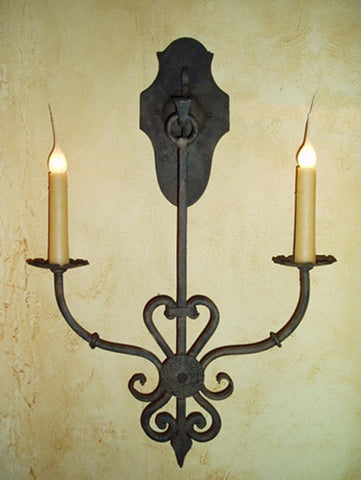 S79 Jasmine Double Hanging Sconce